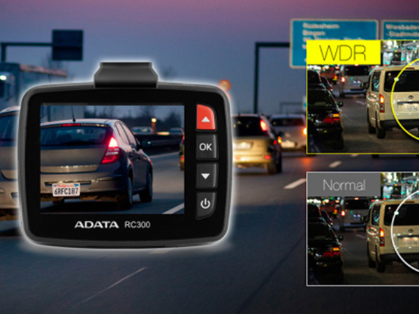 ADATA predstavuje autokameru RC300 DDR