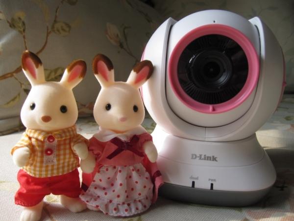 Nová kamerová detská pestúnka D-Link DCS-855L